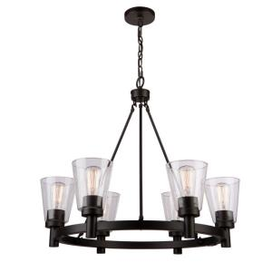 Clarence - 6 Light Chandelier