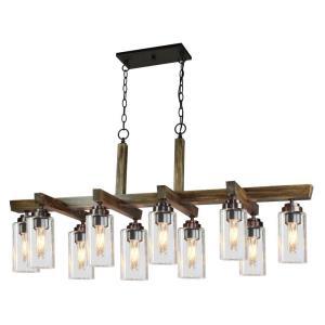 Home Glow - Ten Light Chandelier