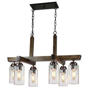 Home Glow - Six Light Chandelier