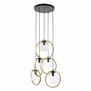 Lugano - Five Light Pendant