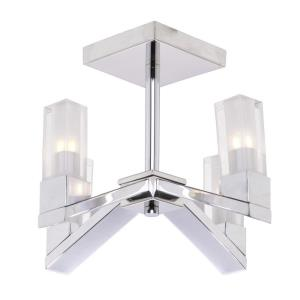 Athena - Four Light Semi-Flush Mount