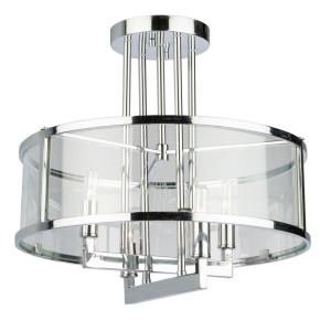 Brinkley - Four Light Semi-Flush Mount