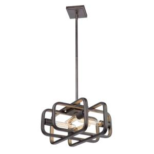 Marlborough-4 Light Pendant in Traditional Style-10.8 Inches Wide by 9.5 Inches High