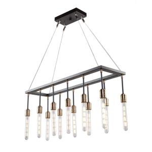 Willow - Twelve Light Rectangular Chandelier