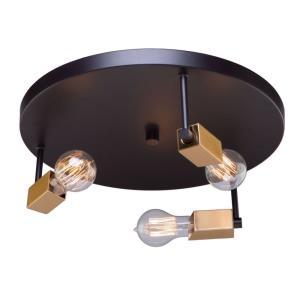 Skyline - Three Light Flush Mount