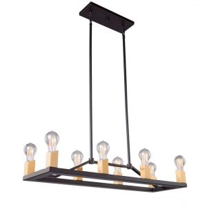 Skyline - 32 Inch Eight Light Island