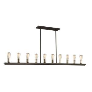 Sandalwood - 13.5 Inch Ten Light Island