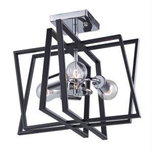 Middleton - Three Light Semi-Flush Mount