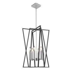 Middleton-6 Light Chandelier in Transitional Style-19.25 Inches Wide by 26 Inches High