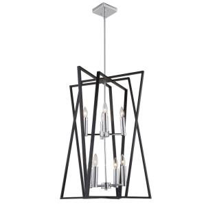 Middleton-8 Light Chandelier in Transitional Style-23 Inches Wide by 30.5 Inches High