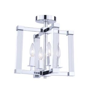 Carlyle - Four Light Semi-Flush Mount