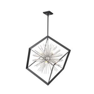 Sunburst - 19 Inch Eight Light Chandelier