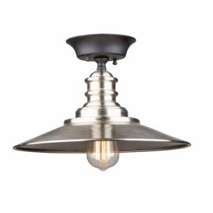 Broxton - One Light Semi-Flush Mount
