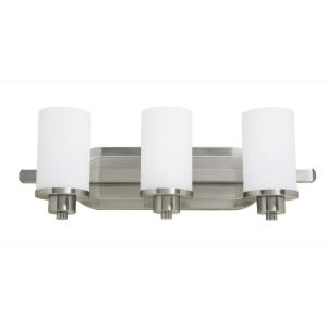 Parkdale-3 Light Bath Vanity-21 Inches Wide by 8 Inches High