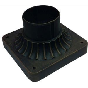 "Classico - 5.75"" Outdoor Post Fitter Mount"
