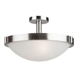 Boise - Three Light Semi-Flush Mount