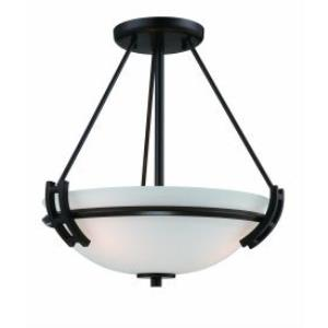 Andover - Two Light Semi-Flush Mount