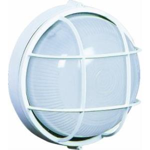 One Light Large Round Wall Sconce