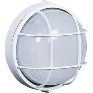 One Light Large Round Wall Sconce-10 Inches Wide