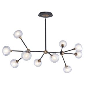 Grappolo - 47.25 Inch 40W 10 LED Chandelier
