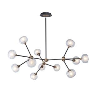 Grappolo - 47.25 Inch 48W 12 LED Chandelier