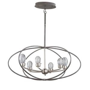 Kingsford - 16.5 Inch 28.8W 6 LED Chandelier