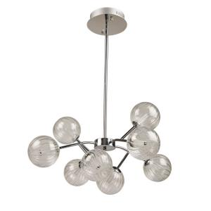 Nightstar - 30 Inch 28W 8 LED Chandelier