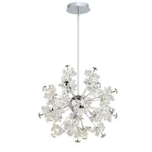 """Blossom - 25.5"""" 72W 25 LED Chandelier"""