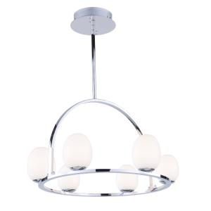 Meridian - 23 Inch 24W 6 LED Chandelier