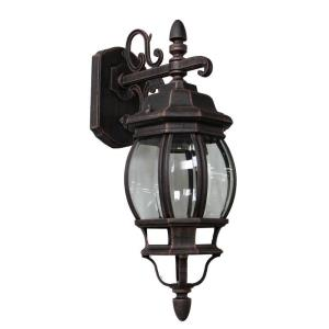 Classico-1 Light Small Outdoor Wall Mount in Traditional Outdoor Style-6.25 Inches Wide by 17.5 Inches High