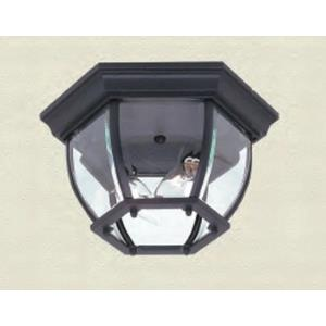 Classico-2 Light Outdoor Flush Mount in Traditional Outdoor Style-10.75 Inches Wide by 6 Inches High