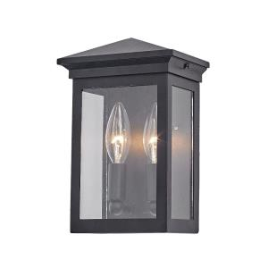 Gable - 9.25 Inch Two Light Outdoor Wall Lantern