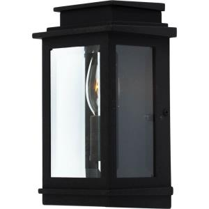 Freemont-1 Light Outdoor Wall Mount in Transitional Outdoor Style-3.5 Inches Wide by 8 Inches High