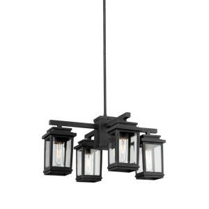 Freemont - 4 Light Outdoor Chandelier