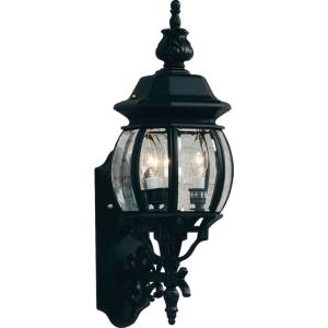 Classico - 3 Light Outdoor Wall Mount