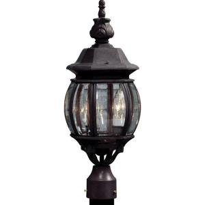Classico - Three Light Post Mount