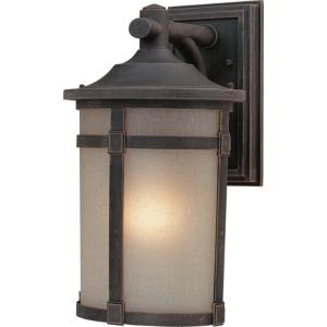 St. Moritz-One Light Medium Outdoor Wall Mount-9.5 Inches Wide by 15.75 Inches High