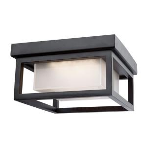 Overbrook - 8.25 Inch 12W 1 LED Outdoor Flush Mount
