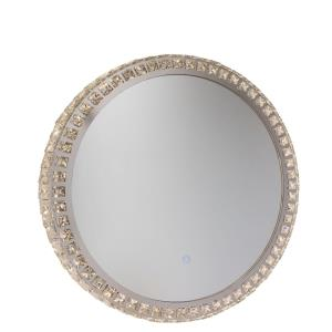 Reflections - 24 Inch 20W 1 LED Round Mirror