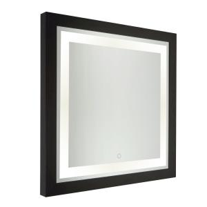 Valet-28W 1 LED Square Mirror in Transitional Style-4 Inches Wide by 30 Inches High