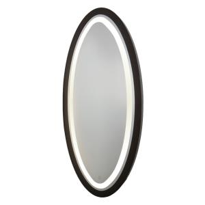 Valet-35W 1 LED Oval Mirror in Transitional Style-4 Inches Wide by 60 Inches High