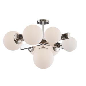 Moonglow - Seven Light Semi-Flush Mount