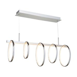 Trapeze-485W 5 LED Island-11 Inches Wide by 11 Inches High