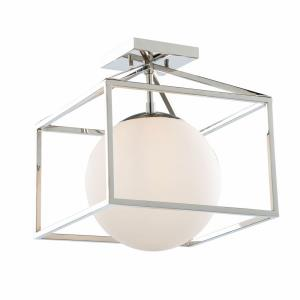 Eclispse - One Light Semi-Flush Mount