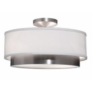 Scandia - Two Light Semi-Flush Mount