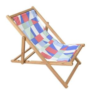 """Astella - 41.5"""" Outdoor Cabana Beach Patio Sling Chair with 4 Adjustable Recline Position"""