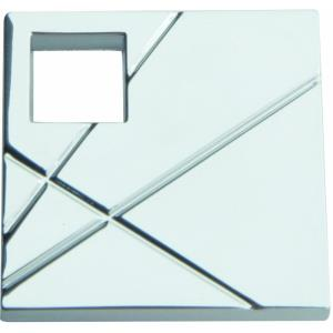 Modernist Collection 1.50 Inch Square Right Cabinet Knob