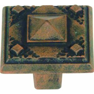 Craftsman Collection 1.25 Inch Square Cabinet Knob