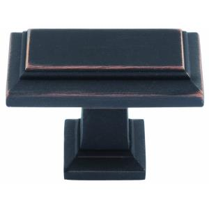 Sutton Place Collection 1.42 Inch Rectangular Cabinet Knob