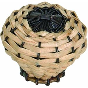 Hamptons Collection 2 Inch Bamboo Weave Cabinet Knob